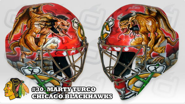 Hockey Helmet Art